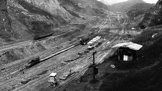 PANAMA. LA CONSTRUCCION DEL CANAL, EN UNA FOTO DE ARCHIVO DE 1907. Clarín.com