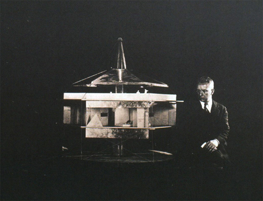 DIMAXYON HOUSE, 1929 AUTOR: Richard Buckminster Fuller - Efimeras.com