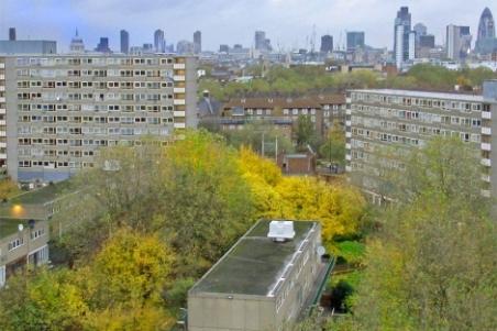 Viviendas del complejo Heygate Estate, en Londres sur. | Elmundo.es