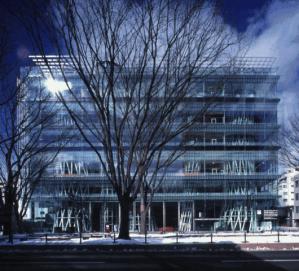 Mediateca en Sendai, Proyecto de Toyo Ito (1995 - 1997)