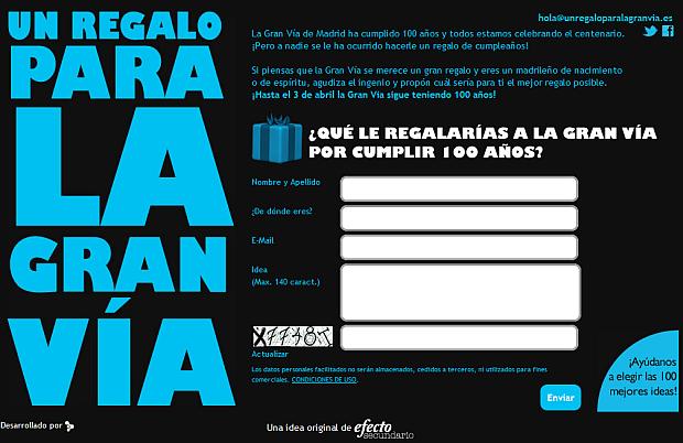 www.unregaloparalagranvia.es
