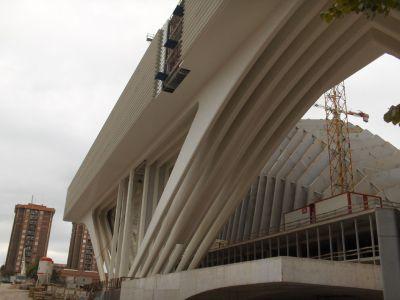 Siempre la gran escala, una constante de Calatrava