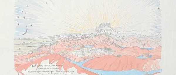 Una de las treinta láminas de «Arquitectura en los Alpes» - Foto: Akademie / LaRazón.es
