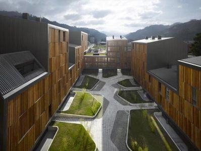 Edificio de 131 viviendas protegidas en Mieres del estudio Zigzag Arquitectura, ElMundo.es