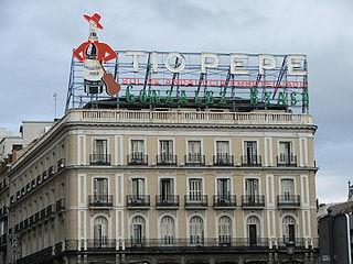 El famoso anuncio de Tío Pepe. Wikipedia