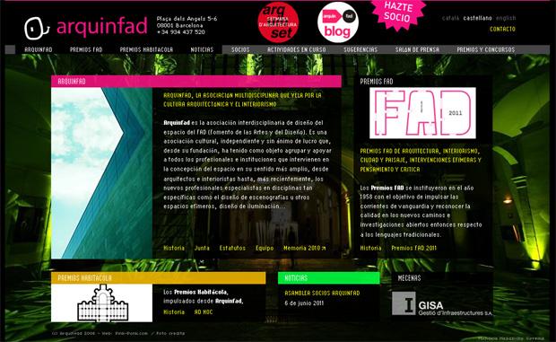 FAD 2011 - Arquinfad arquinfad.org