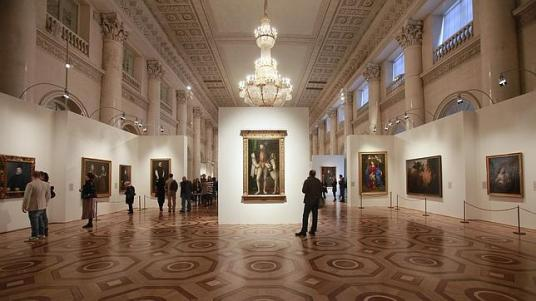 Imagen de la muestra del Museo del Prado en el Hermitage - AP / ABC.es