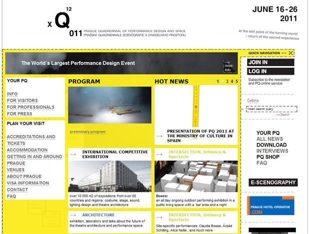 Prague Quadrennial of Performance Design and Space - PQ 2011