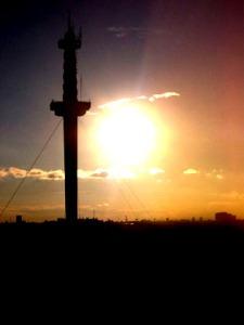 Torre Espacial, también conocida como Torre de la Ciudad o Torre de Interama. Wikipedia