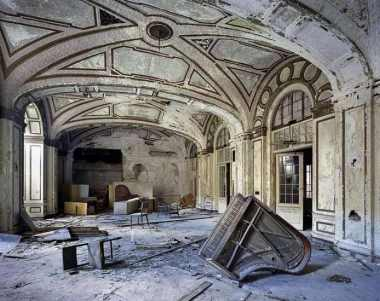 Salón de baile de un hotel del centro de Detroit (Yves Marchand y Romain Meffre) 20minutos.es
