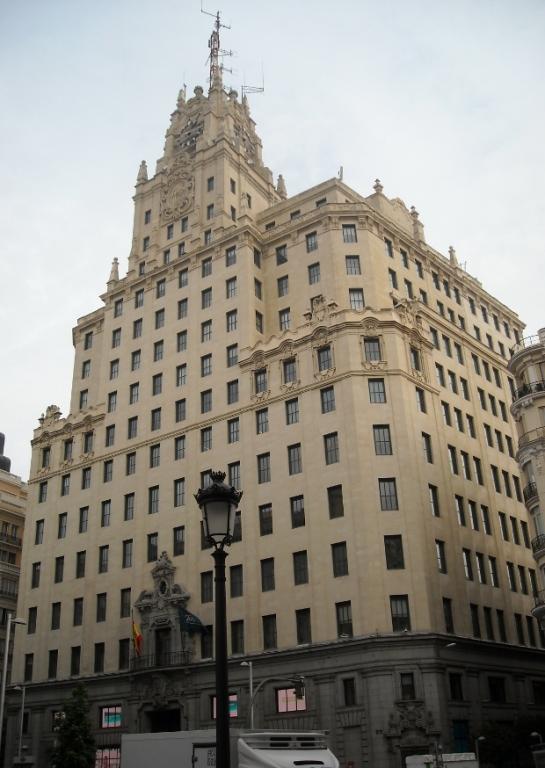 El Edificio Telefónica, emblema de la verticalidad en la Gran Vía madrileña - Darío Álvarez, mayo 2011