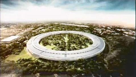 Diseño de la sede (Apple) LATIMES.COM