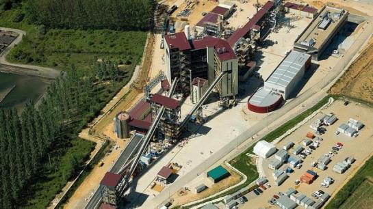 Ciuden - ABC.es / Sociedad / Vista general de la Ciudad de la Energía en Cubillos de Sil (León)
