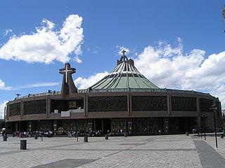 Nueva Basílica de Santa María de Guadalupe en la Ciudad de México. Wikipedia