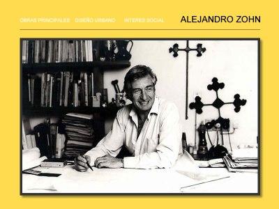 Arquitecto Alejandro Zohn Rosenthal  (Viena, Austria,  8 de agosto de 1930 - Guadalajara, México, 2000)  Foto: alejandrozohn.com