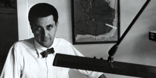 A young Bertrand Goldberg in his Chicago office, 1950s. www.bertrandgoldberg.org