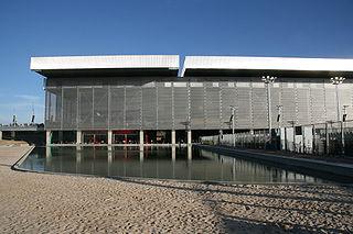 Exterior de la Caja Mágica, durante la celebración del Madrid Masters 2009 - Wikipedia