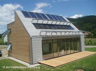 Una muestra de la ''arquitectura solar'' de Georg Reinberg.