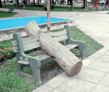 EL TRONCO DE LA VICTORIA POPULAR. LA OBRA, EMPLAZADA OTRA VEZ EN EL CENTRO DE LA CAPITAL CHAQUEÑA - Clarín.com