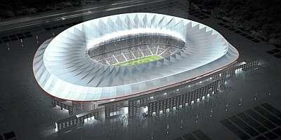 Vista aérea de cómo luciría el nuevo estadio de Madrid - Marca