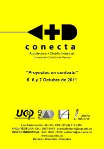 Evento académico de la Facultad de Arquitectura y Diseño de la Universidad Catolica de Pereira