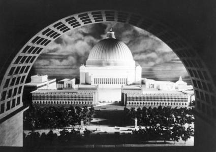 Proyecto para Berlin, de Albert Speer - Germania. Foto: Bundesarchiv, Bild 146-1983-018-03A / CC-BY-SA