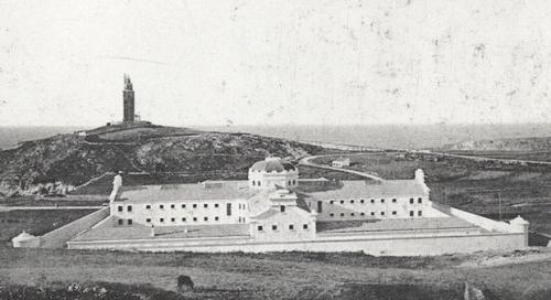 Vieja prisión provincial coruñesa - colectivo Proxecto Cárcere