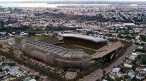PAISAJE. Una vista aérea del mayor estadio neocelandés. (AFP) Clarín.com