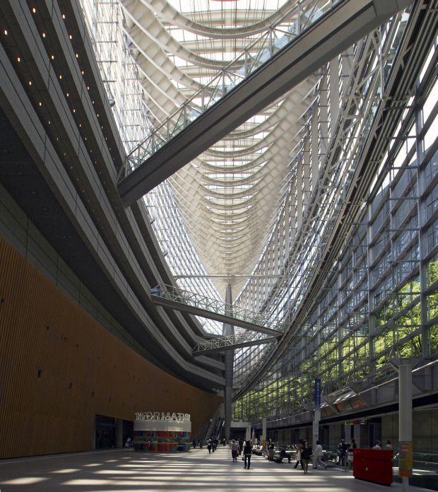 Interior del Foro Internacional de Tokio - Wikipedia