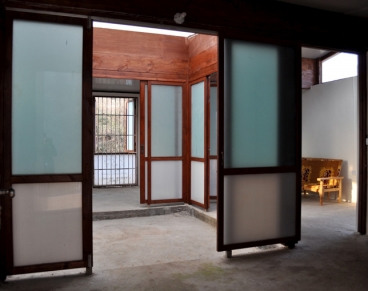 The interior of the house designed by Ying chee Chui as part of MIT's 1K House project. Photo: Ying chee Chui