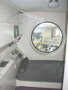 A sample room within the Nakagin Capsule Tower - Wikipedia