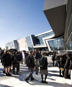 Architect: Zaha Hadid Architects  Client: ARK Schools  Photographer: Luke Hayes - RIBA