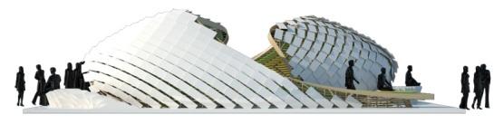 Imágenes by designboom.com Renders by arquitecto José Ramón Tramoyeres Green Geometries Laboratory   Web de CERACASA