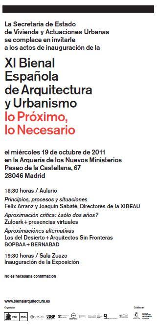 xi.bienalarquitectura.es