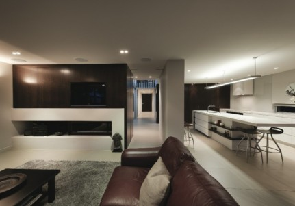 Interior - Leinster House vía primedesign.co.nz