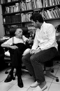 Fontela visitó a Niemeyer en Río - 20minutos.es