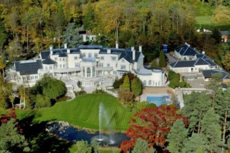 Vista aérea de la mansión de Updown Court. | Daily Mail - ElMundo.es