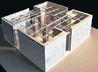 Este es el modelo de vivienda, modular y resistente a sismos con intensidades de hasta 8 grados.  Foto: Archivo Portafolio.co