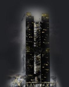 Imagen del edificio generada por ordenador - Hotel Catalonia Fira, inaugura en 2012