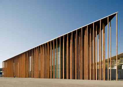 Pabellón de España en la Expo-Zaragoza / Foto Cortesía Fundación Arquitectura y Sociedad