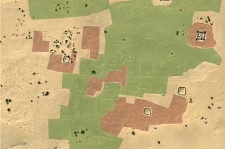 Imagen tomada por satélite de la ciudad perdida. | DigitalGlobe - ElMundo.es
