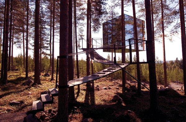 Imagen del cubo espejo www.mirrorcube.se - Faro de Vigo
