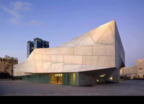 TEL AVIV MUSEUM OF ART Construction 2007-2010.by PRESTON SCOTT COHEN INC