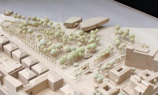 Maqueta del Proyecto actualizado - Renzo Piano Building Workshop (Imagen Cortesía Fundación Botín)