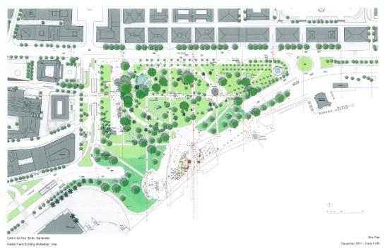 Ubicación y contexto urbano, Centro de Arte Botín, Santander - Renzo Piano Building Workshop (Imagen Cortesía Fundación Botín)
