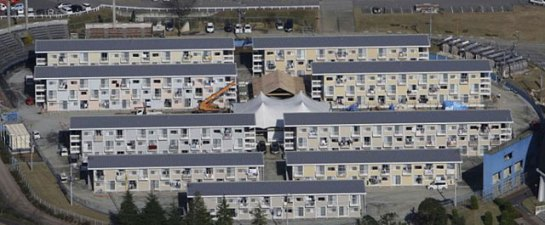 Barrio de contenedores del arquitecto Shigeru Ban.| Reuters - ElMundo.es