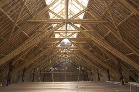 """Bali se suma a la arquitectura sostenible con una """"catedral de bambú"""" - EPA / Google"""