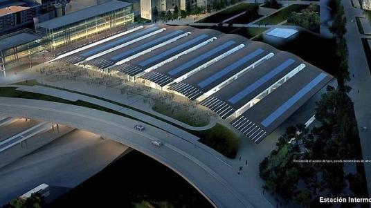 ABC.es -  Recreación de la futura estación de Ourense