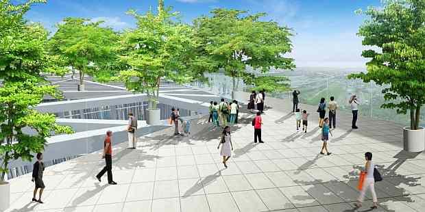 Detalle de la azotea y los jardines.   Fuente: Sou Fujimoto Architects - www.eldiariomontanes.es