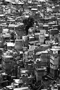 Favela Rocinha. Wikipedia